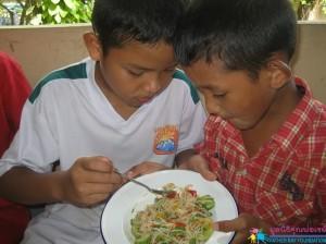อาหารจีนฝีมือเด็กๆ