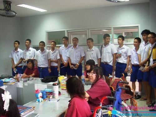โรงเรียนอัสสัมชัญ บางรัก เยี่ยมชมการดำเนินงานโรงเรียนอาชีวพระมหาไถ่