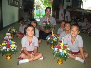 กิจกรรมวันไห้วครู ศูนย์พัฒนาเด็กเล็กพระมหาไถ่  พัทยา