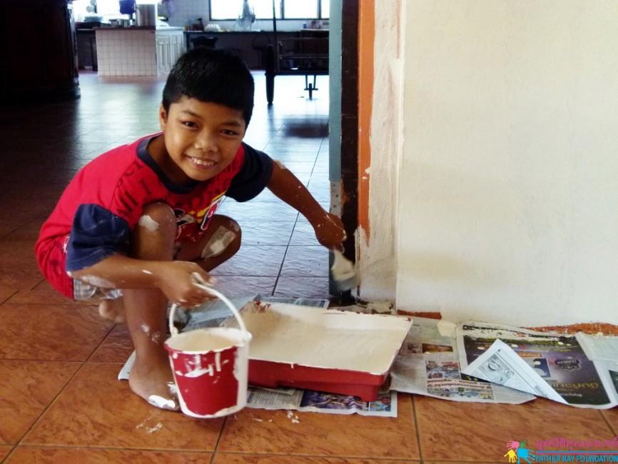 โครงการสร้างฝัน แบ่งปันความสุข จากพี่ๆ เครือไทยออยล์