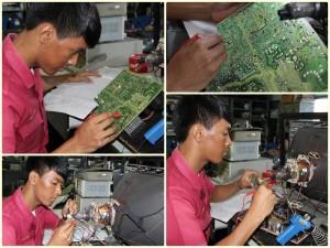 เรียนซ่อมเครื่องใช้ไฟฟ้า