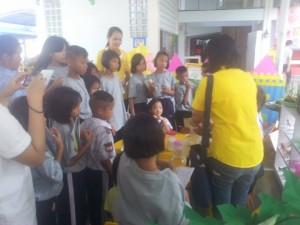 ชมนิทรรศการโรงเรียนเซนต์โยเซฟระยอง