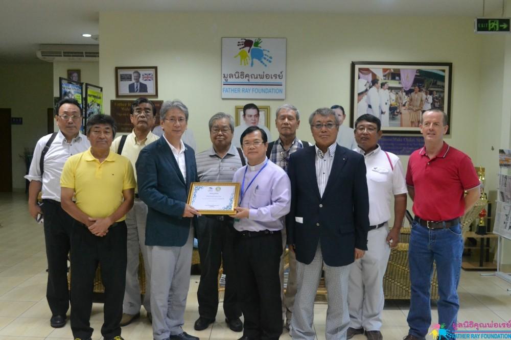 Tokoname Rotary Club จากประเทศญี่ปุ่น