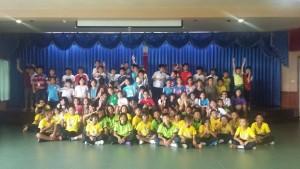 ร่วมกีฬาสี ที่โรงเรียนร่วมฤดีวิเทศศึกษา