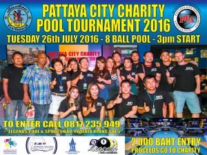 Pattaya Charity Pool Tournament 2016