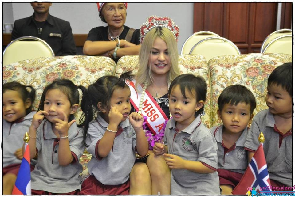 ต้อนรับ Miss Asia United Nations 2018