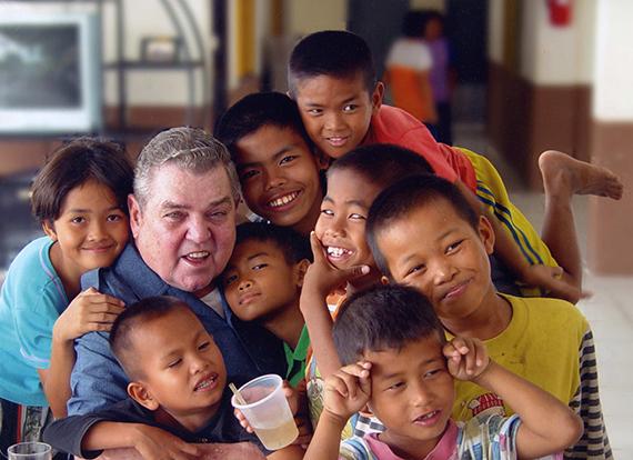 Fr. Raymond & Children