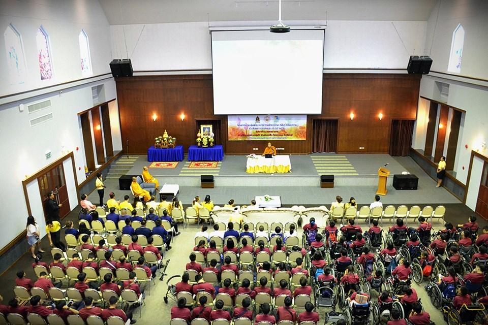 โครงการธรรมะสู่คนทั้งมวล กิจกรรมศึกษาธรรมะ เรียนรู้วิถีวัฒนธรรม เนื่องในเทศกาลวันวิสาขบูชา ประจำปีพุทธศักราช 2562
